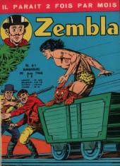 Zembla -61- Les diamants de Cap Funeste