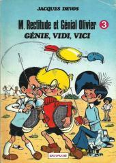 Génial Olivier -3- Génie, Vidi, Vici