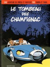 Spirou et Fantasio (Une aventure de / Le Spirou de...) -3- Le tombeau des Champignac