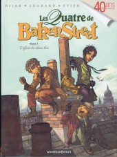 Les quatre de Baker Street -1- L'affaire du rideau bleu
