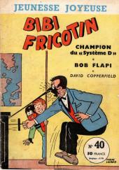 Bibi Fricotin (3e Série - Jeunesse Joyeuse) (1) -40- Bibi Fricotin champion du