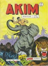 Akim (1re série) -651- La charge des éléphants