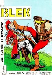 Blek (Les albums du Grand) -334- Numéro 334