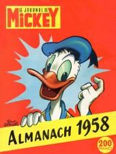 Almanach du Journal de Mickey -2- Année 1958
