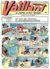 Vaillant (le journal le plus captivant) -70- Vaillant