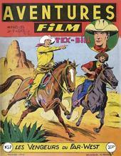Aventures Film (1re série - Artima) -57- Les vengeurs du far-west