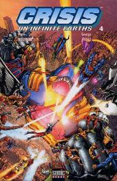 Crisis on infinite earths -4- Crisis on infinite earths Tome 4