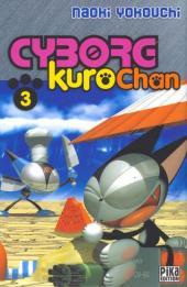 Cyborg Kurochan -3- Chat perché