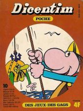 Dicentim Poche -10- Des jeux - Des gags