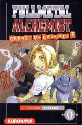 FullMetal Alchemist -HS1- Carnet de croquis