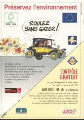 Gaston (Hors-série) -Pub- Roulez sans gazer !