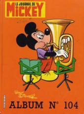 (Recueil) Mickey (Le Journal de) -104- Album n°104 (n°1604 à 1613)