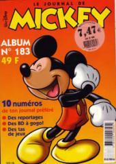(Recueil) Mickey (Le Journal de) -183- Album 183 (n°2420 à 2439)