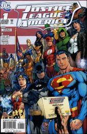 Justice League of America (2006) -1- The Tornado's path, part one: life
