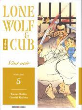 Lone Wolf & Cub -5- Vent noir