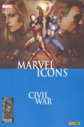Marvel Icons (Marvel France 1re série) -24- Emeutes