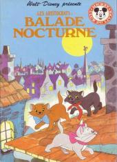 Mickey club du livre -24- Les aristochats - Balade nocturne