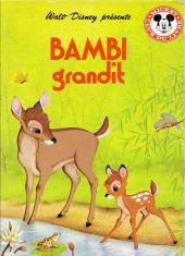 Mickey club du livre -43- Bambi grandit