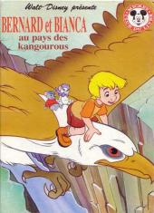 Mickey club du livre -60- Bernard et Bianca au pays des kangourous
