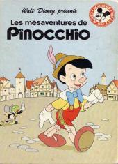 Mickey club du livre -135- Les mésaventures de Pinocchio