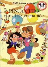 Mickey club du livre -183- Pinocchio dans l'île enchantée