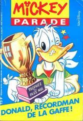 Mickey Parade -139- Donald, recordman de la gaffe !