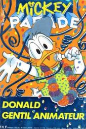 Mickey Parade -151- Donald gentil animateur
