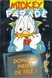 Mickey Parade -174- Donald privé de télé