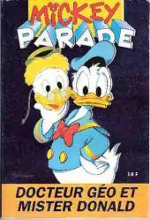 Mickey Parade -181- Docteur géo et mister donald