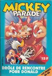 Mickey Parade -229- Drôle de rencontre pour donald
