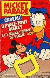 Mickey Parade -76- 3 pince-tout Disney