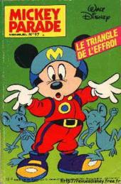 Mickey Parade -97- Le triangle de l'effroi