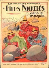 Les pieds Nickelés (3e série) (1946-1988) -14- Les Pieds Nickelés dans le maquis