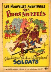 Les pieds Nickelés (3e série) (1946-1988) -16- Ribouldingue, Filochard et Croquignol soldats