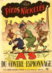 Les pieds Nickelés (3e série) (1946-1988) -17- Les Pieds Nickelés as du contre-espionnage
