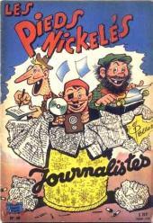 Les pieds Nickelés (3e série) (1946-1988) -49- Les Pieds Nickelés journalistes