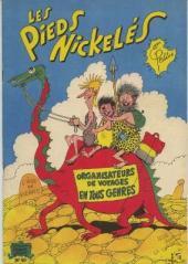 Les pieds Nickelés (3e série) (1946-1988) -50- Les Pieds Nickelés organisateurs de voyages en tous genres