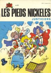 Les pieds Nickelés (3e série) (1946-1988) -81- Les Pieds Nickelés justiciers
