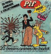 Pif Poche -130- 20 dessins animés de charlot