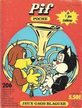 Pif Poche -206- La musique