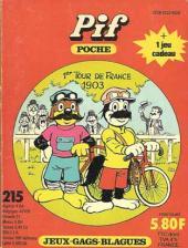 Pif Poche -215- Le vélo!
