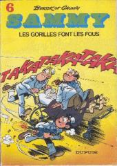 Sammy -6a78- Les gorilles font les fous