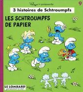 Schtroumpfs (3 histoires de) -9- Les schtroumpfs de papier