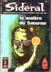 Sidéral (2e série) -18- Le maître de Saturne
