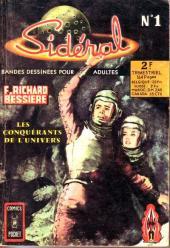 Sidéral (2e série) -1- Les conquérants de l'univers