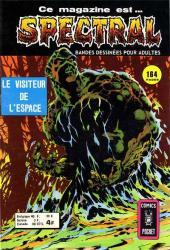 Spectral (1re série) -8- Le visiteur de l'espace