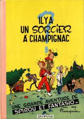 Spirou et Fantasio -2b66- Il y a un sorcier à Champignac