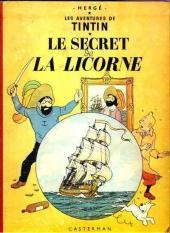 Tintin (Historique) -11B32- Le secret de la licorne