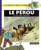 Tintin - Divers -Car3- Carnets de route : le Pérou