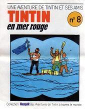 Tintin - Publicités -19Nes08- Une aventure de Tintin et ses amis : Tintin en mer rouge